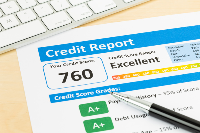 A credit report is all about your credit history